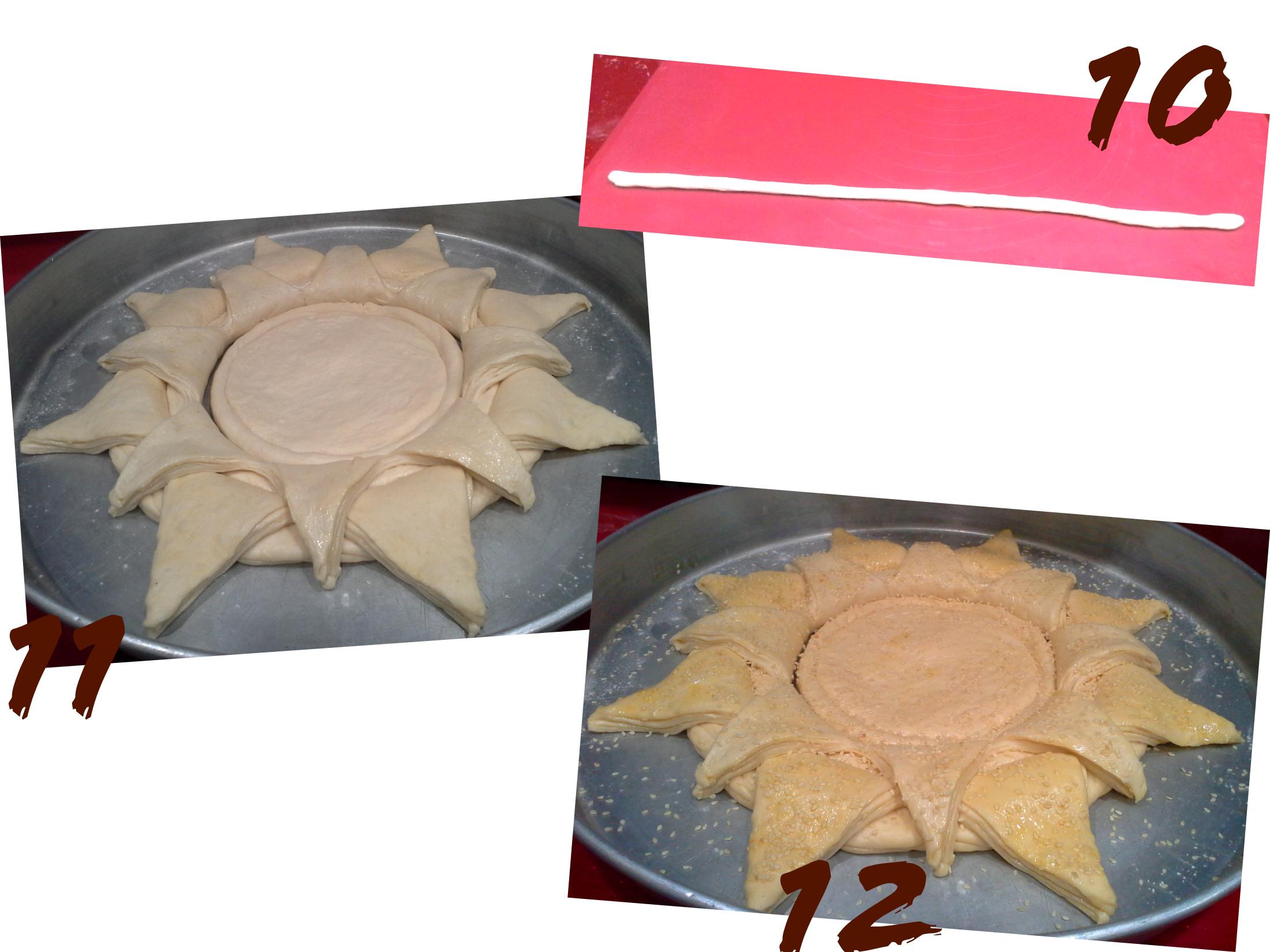 pain tournesol etape 4